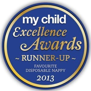 2013 FAVOURITE DISPOSABLE NAPPY RUNNER UP