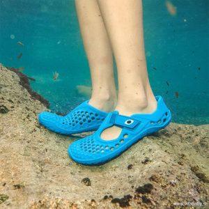 Vivobarefoot Otroški sandali Ultra bloom | Modra
