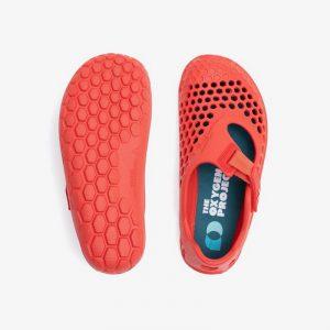 Vivobarefoot Otroški sandali Ultra bloom | Ognjeno koralna
