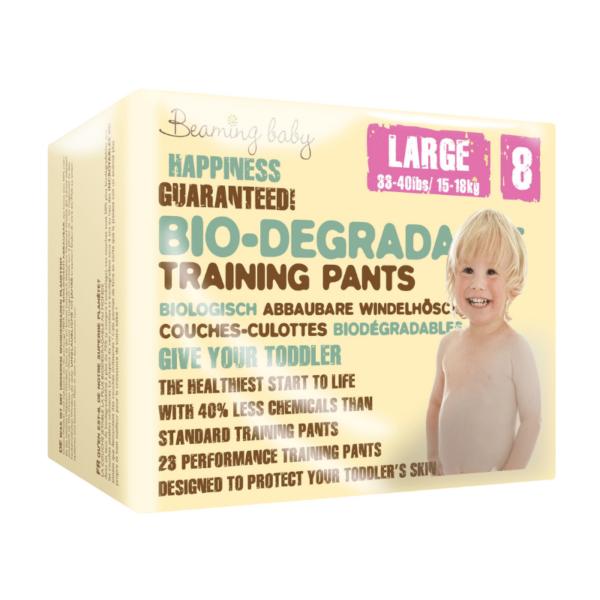 Beaming Baby Bio-razgradljive HLAČNE plenice | 8 L | 15–18 kg