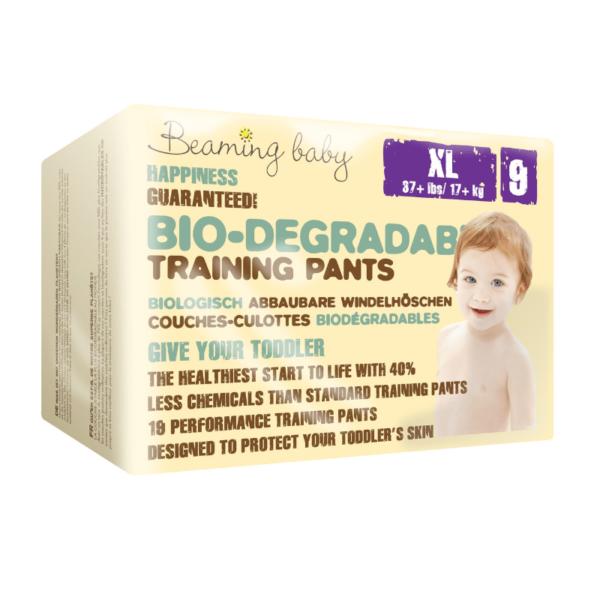 Beaming Baby Bio-razgradljive HLAČNE plenice   9 XL   17+ kg