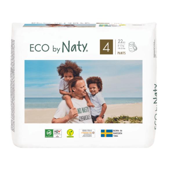 ECO by Naty Ekološke HLAČNE plenice | 4 MAXI | 8–15 kg