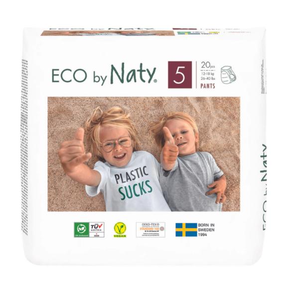 ECO by Naty Ekološke HLAČNE plenice   5 JUNIOR   12–18 kg