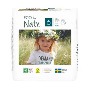 ECO by Naty Ekološke HLAČNE plenice | 6 XL | 16+ kg