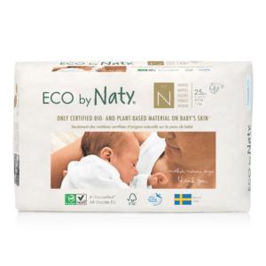 ECO by Naty Ekološke plenice | 0/N NEWBORN | 1–4.5 kg