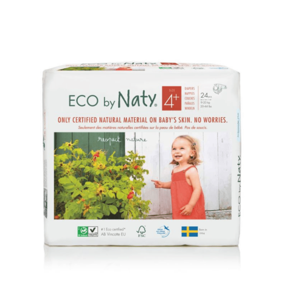 ECO by Naty Ekološke plenice   4+ MAXI+   9–20 kg