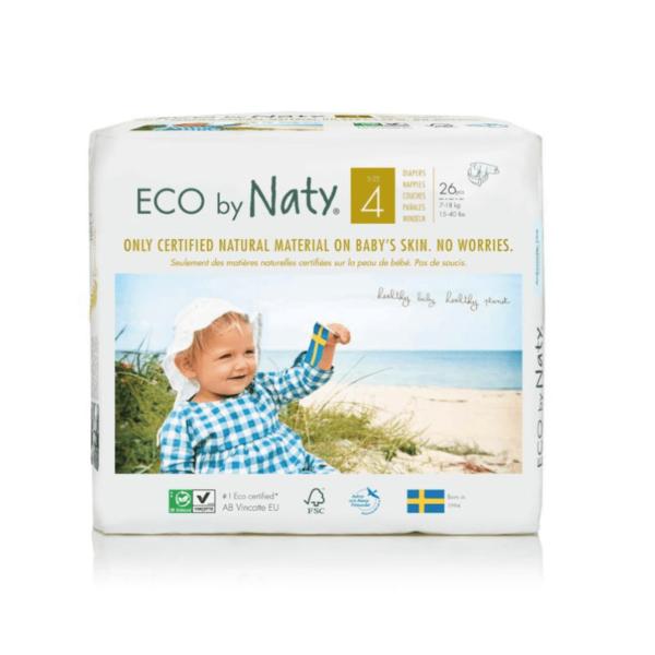ECO by Naty Ekološke plenice | 4 MAXI | 7–18 kg