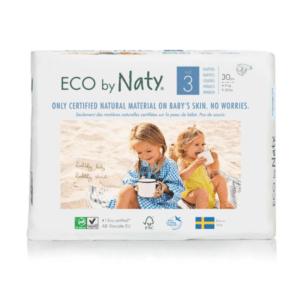 ECO by Naty Ekološke plenice | 3 MIDI | 4–9 kg