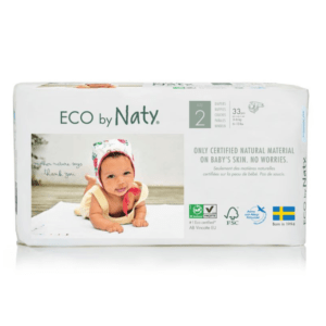 ECO by Naty Ekološke plenice | 2 MINI | 3–6 kg