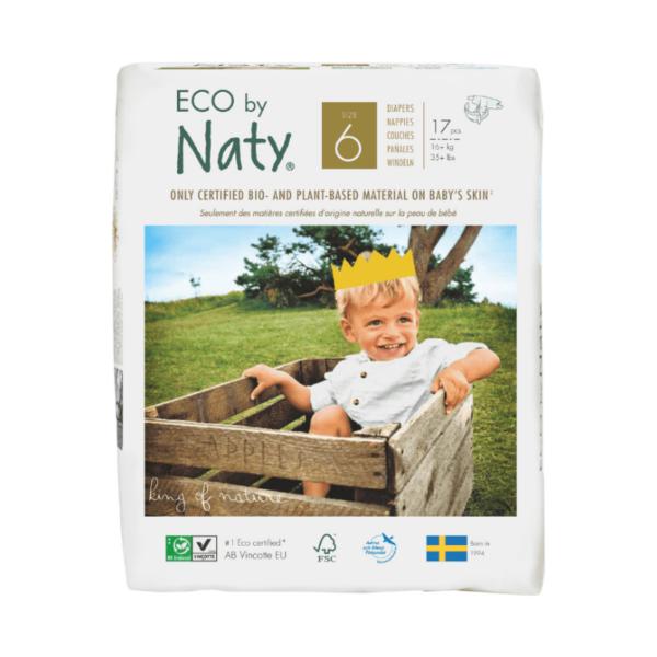 ECO by Naty Ekološke plenice | 6 XL | 16+ kg