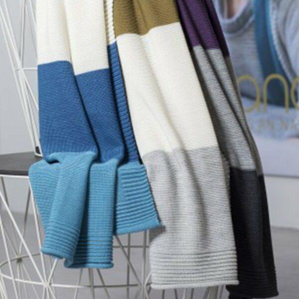 Disana Eko pletena volnena dekica | Baby | 80 x 100 cm | Več barv