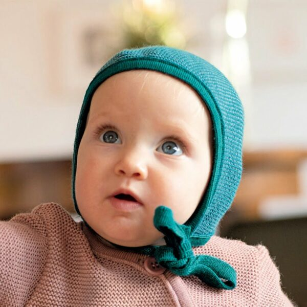 Disana Pletena volnena kapa   Newborn   Več barv