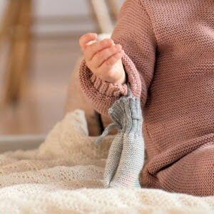 Disana pletene volnene rokavičke | Newborn | Več barv