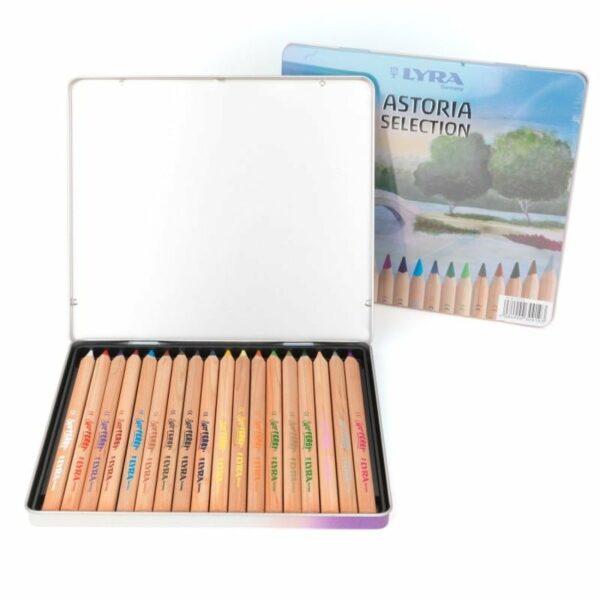 Lyra Barvice | Astoria Selection | Kovinska škatla | 18 barv