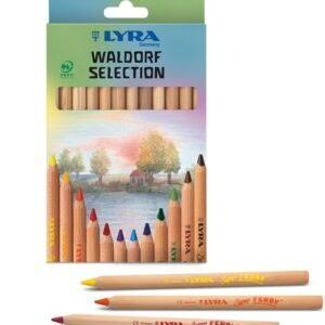 Lyra Barvice | Waldorf Selection | Kartonska škatla | 12 barv