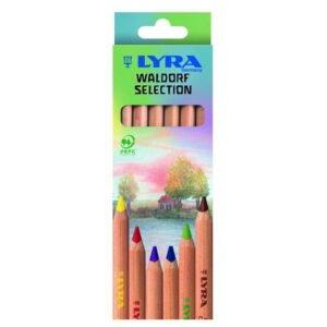 Lyra Barvice | Waldorf Selection | Kartonska škatla | 6 barv