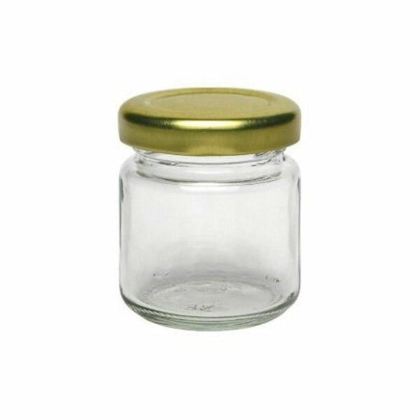 Lyra Stekleni kozarček s pokrovom | Mini | 1 kos