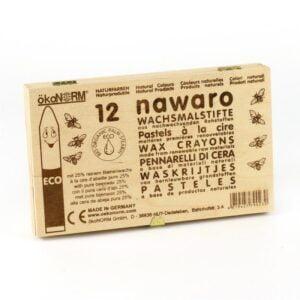 Oekonorm Nawaro Naravne vočenke | Classic | Lesena FSC škatla | 12 barv