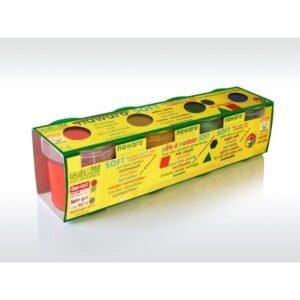 Oekonorm Nawaro Naravni mehki plastelin | 4 barve Classic