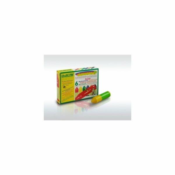 Oekonorm Nawaro Naravne voščenke | Mini | 6 barv