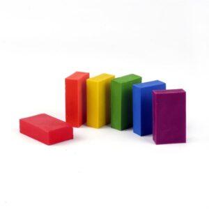 Oekonorm Nawaro Naravne voščenke v bloku | Unicorn | 6 barv