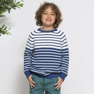 Kite Pleten pulover | Črte