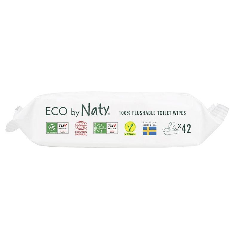 vitababy Eco by Naty Ekoloski negovalni robcki za obcutljivo kozo sensitive. Neodisavljeni. Mini Flushable 3