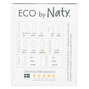 ECO by Naty Higienski vložki s krilci | Nočni