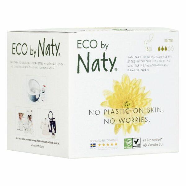 ECO by Naty Higienski vložki brez krilc   Normal