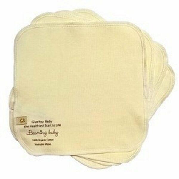 Beaming Baby Organski pralni negovalni robčki | Podloge | 20 x 20 cm