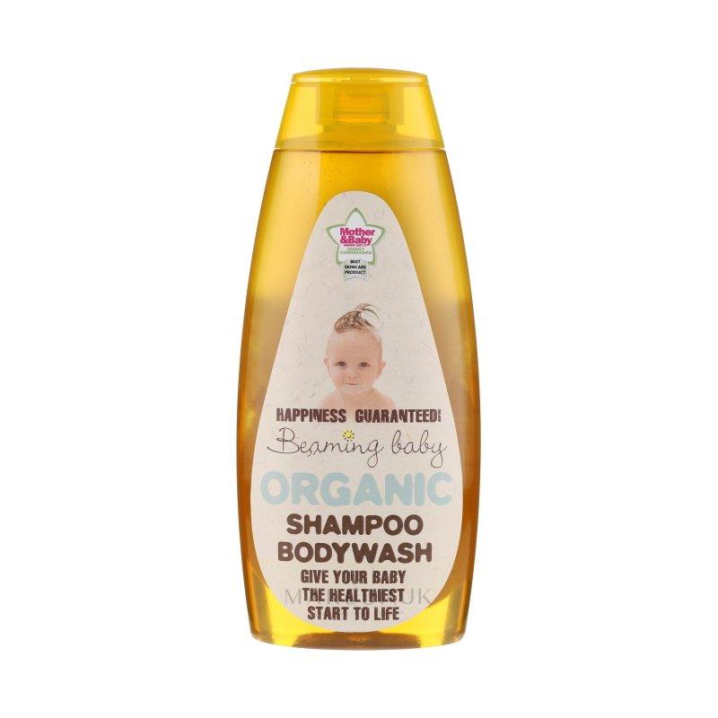 vitababy beaming baby Organski otroski gel za tusiranje z aloe vero za lase in telo