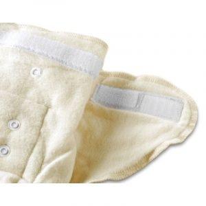 Cotonea Mehke pralne prilegajoče plenice   Snap to fit   vel. 62-86   Natur