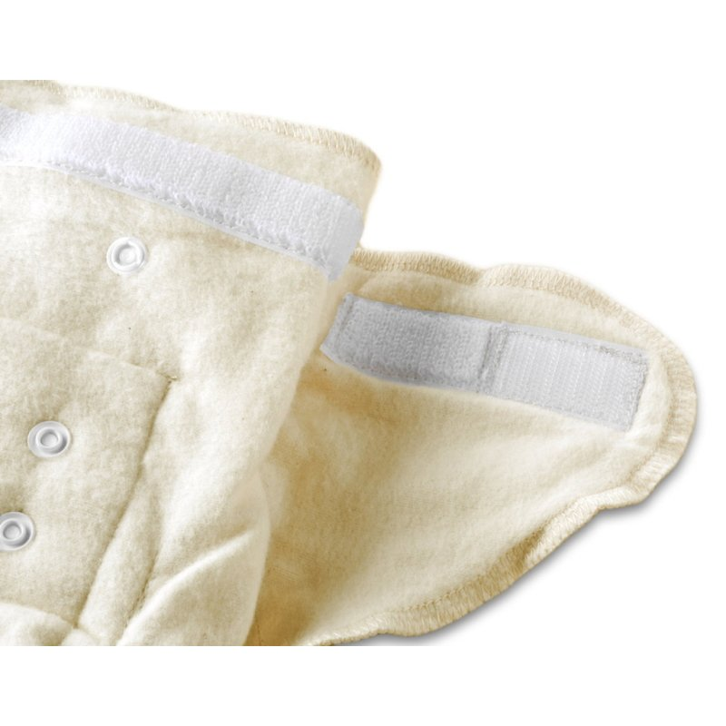 vitababy cotonea Mehke pralne prilegajoce plenice Snap to fit natur 2