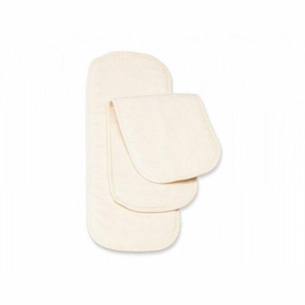 Cotonea Plenični vložek iz moltona za prilegajoče plenice | 5-slojni | Natur