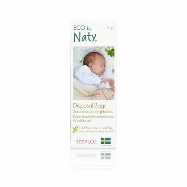 Eco by Naty Biorazgradljive vrečke za plenice | V roli