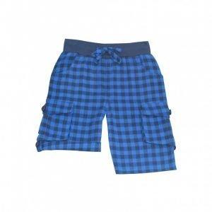 Frugi Flanelaste hlače   Modri karo