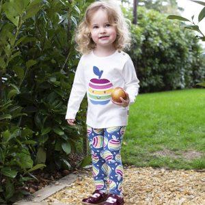 Kite Udobne hlače/legice | Mavrična jabolka