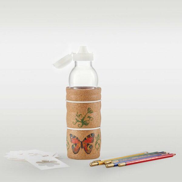 Nature's Design Steklenica Thank you   KIDS   Z belo rožo življenja   0.5 l