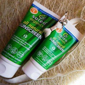 Soleo Organics Organska krema za sončenje   SPF 30+