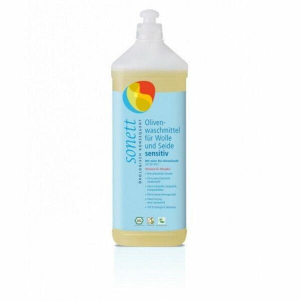 Sonett Tekoče pralno sredstvo za volno in svilo iz olivnega olja | Sensitive