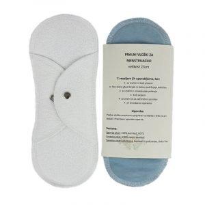 TerraSleep Pralni vložek za menstruacijo iz ekološkega bombaža