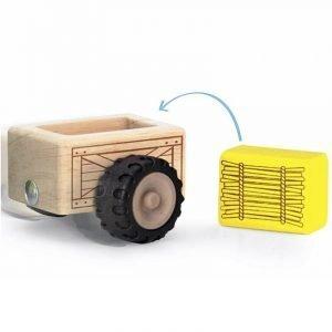 Wonderworld Leseni traktor s priklopnikom