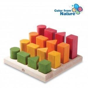 Wonderworld Lesene kocke | Naučimo se barv, oblik in razvrščanja