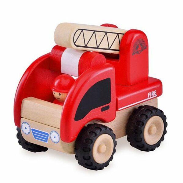 Wonderworld Leseni mini gasilski avto