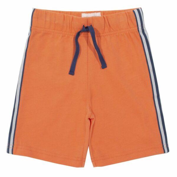 Kite Mehke kratke hlače s stransko črto | Oranžna