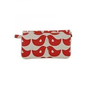 Apple&Bee Kozmetična torbica v obliki pisma   Lovebird Red