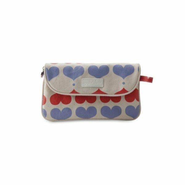 Apple&Bee Kozmetična torbica v obliki pisma | Love Hearts