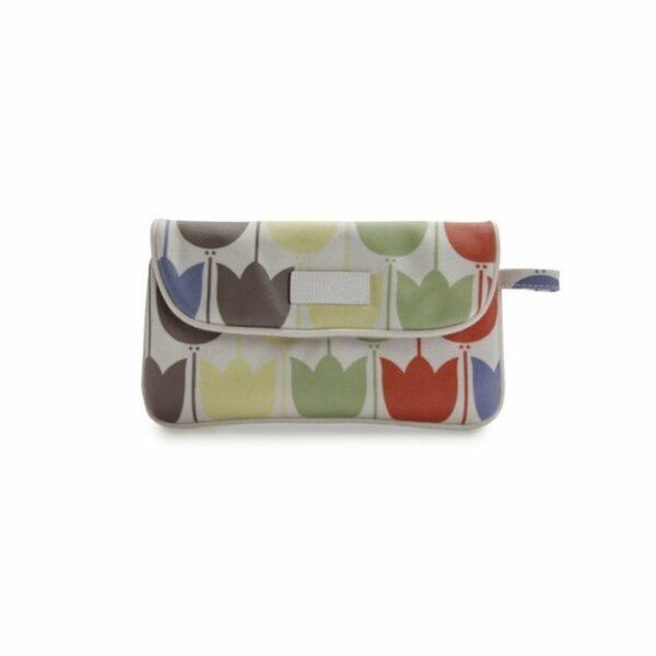 Apple&Bee Kozmetična torbica v obliki pisma   Tulips Multicolor